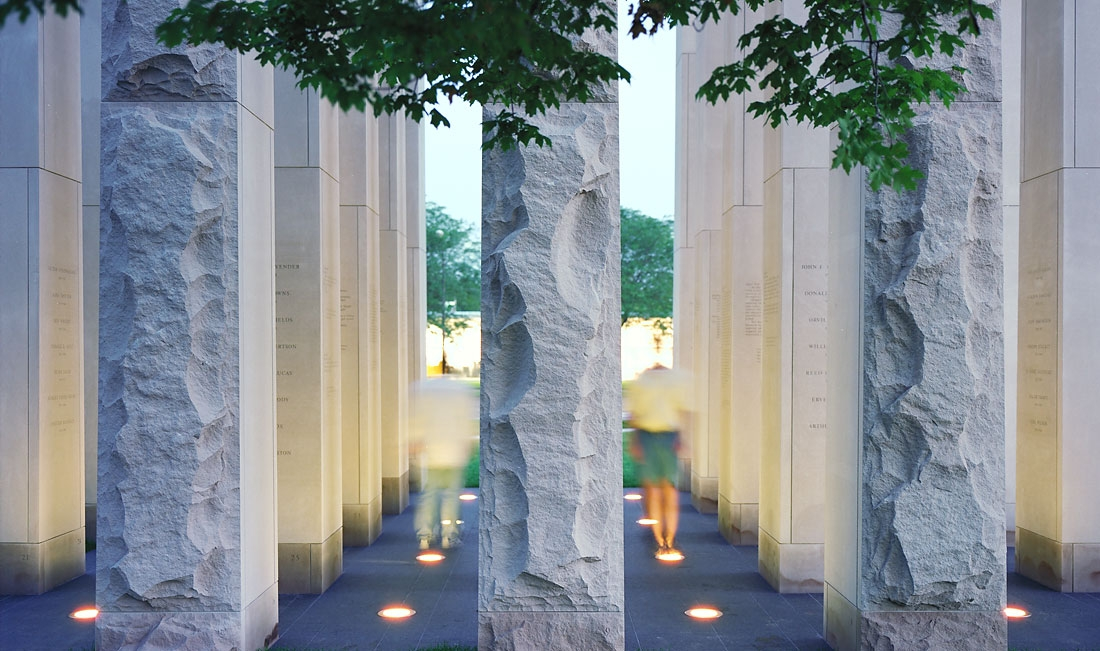 <p>Thompson and Rose</p><p>Columbus Veteran's Memorial<br />Columbus, OH</p>