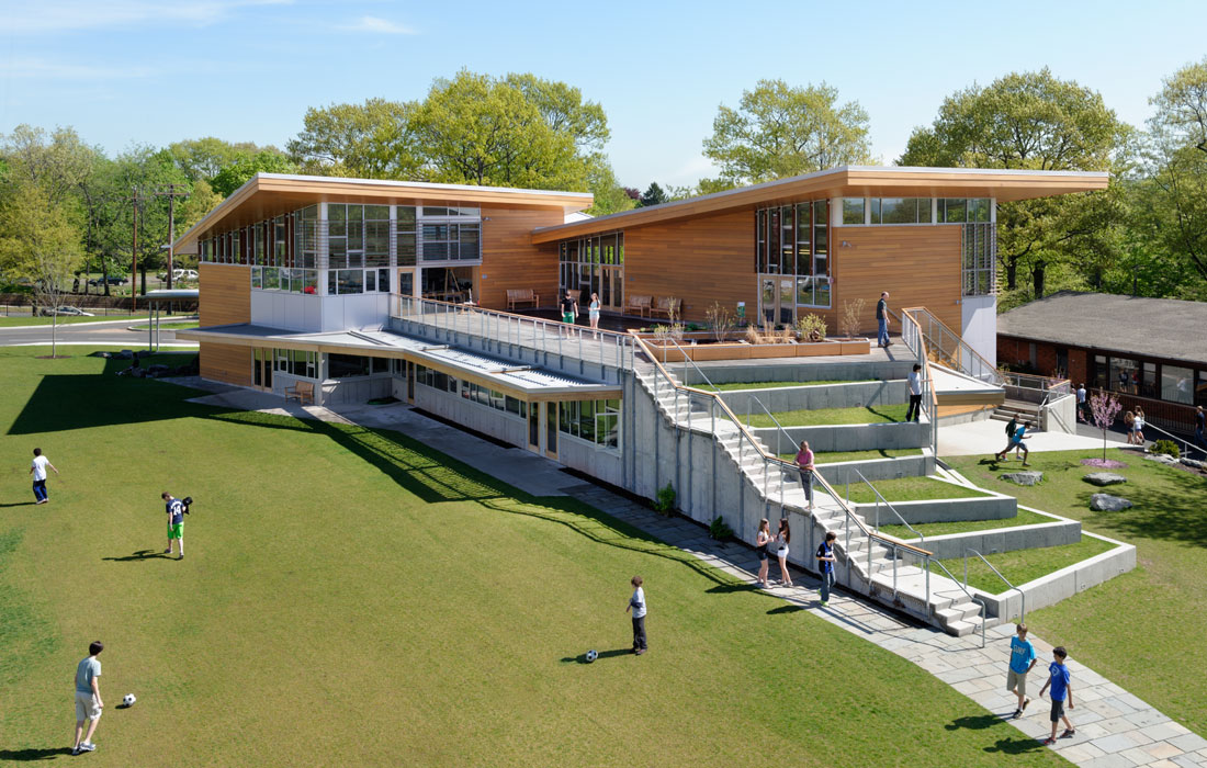 <p>Maryann Thompson Architects<br />  </p> <p>Milikowsky Science and Technology Building<br />The Foote School<br />New Haven, CT</p>