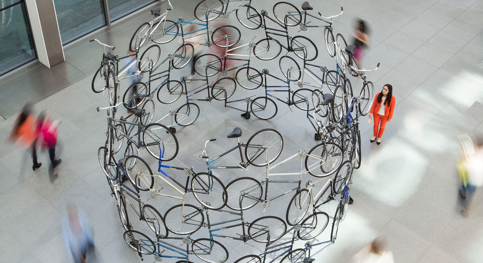 <p>Ai Weiwei's 'Forever' Sculpture<br />Megacities Asia Exhibition<br />   </p>